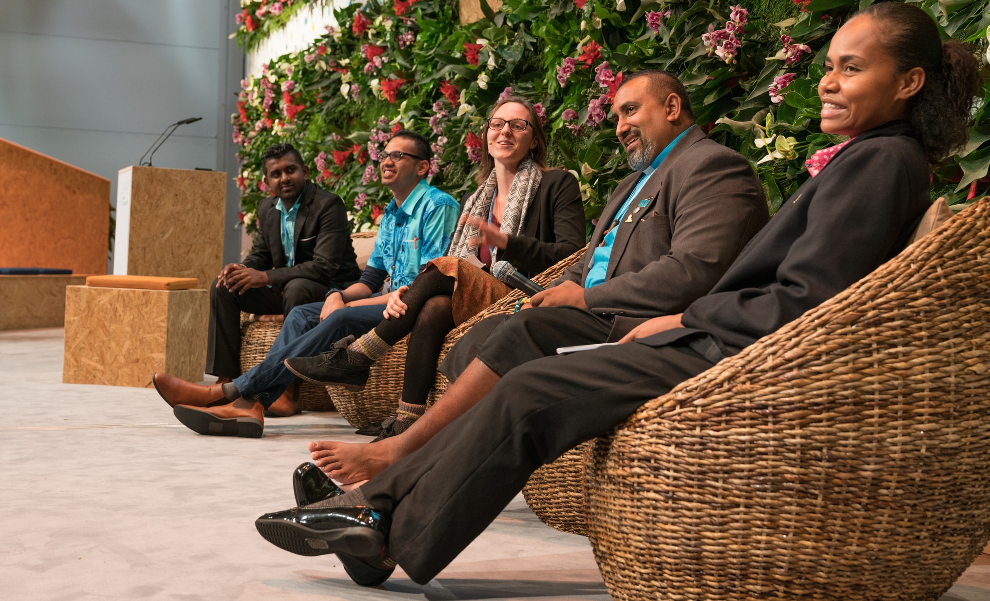 A 'Talanoa' meeting during climate talks in Bonn, Germany in November (Photo: UNclimatechange/Flickr)