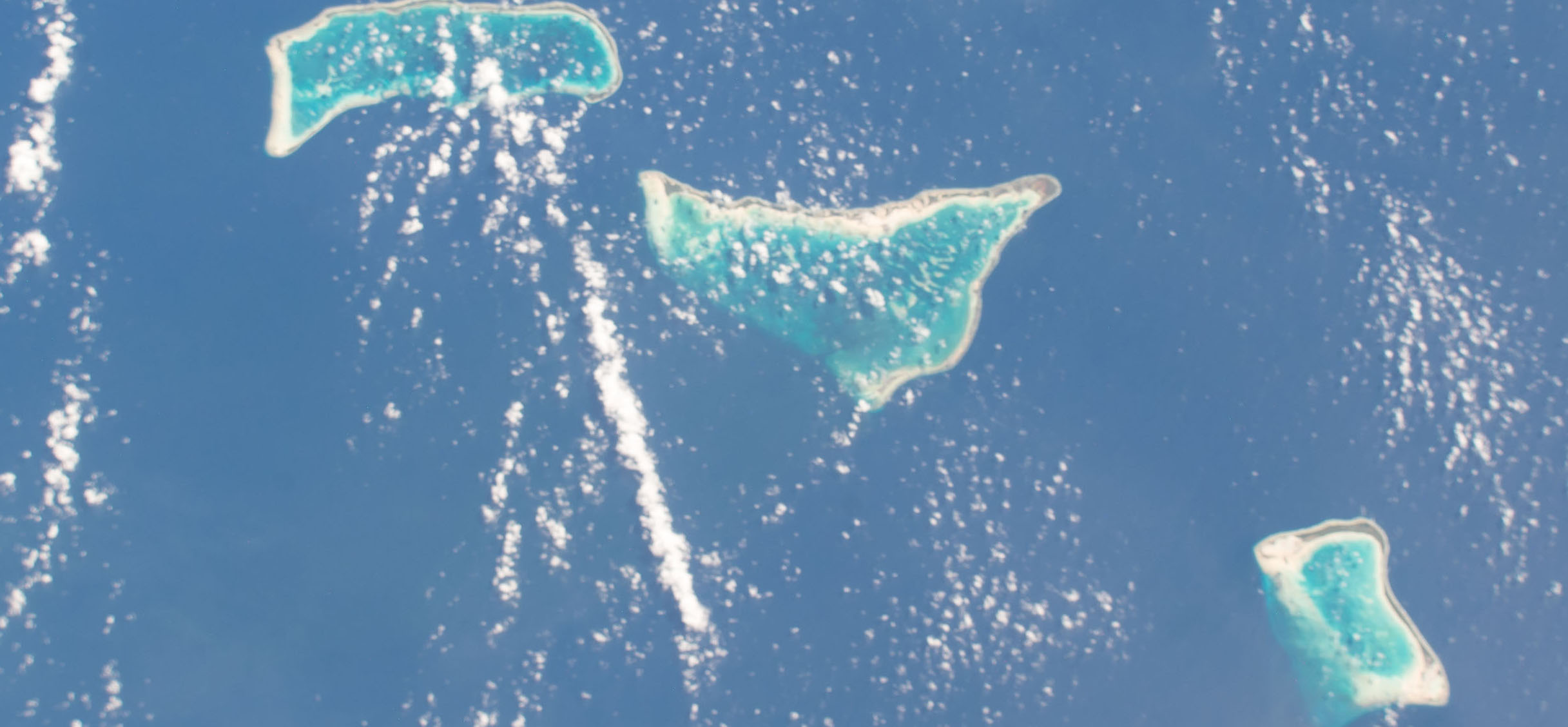 Islands of the Kiribati Republic (Photo: NASA Johnson/Flickr)