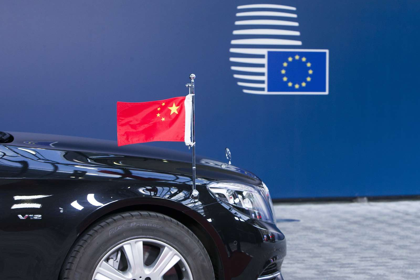 Diplomatic pageantry will have to wait: this year the EU-China summit will now instead be a video call (European Council President/Flickr)