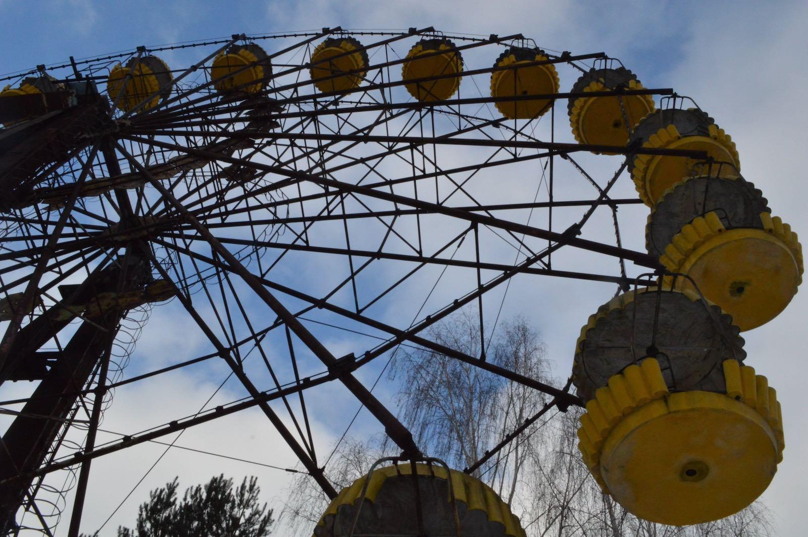 The abandoned fairground at Chernobyl (Photo: Ian Bancroft/Flickr)