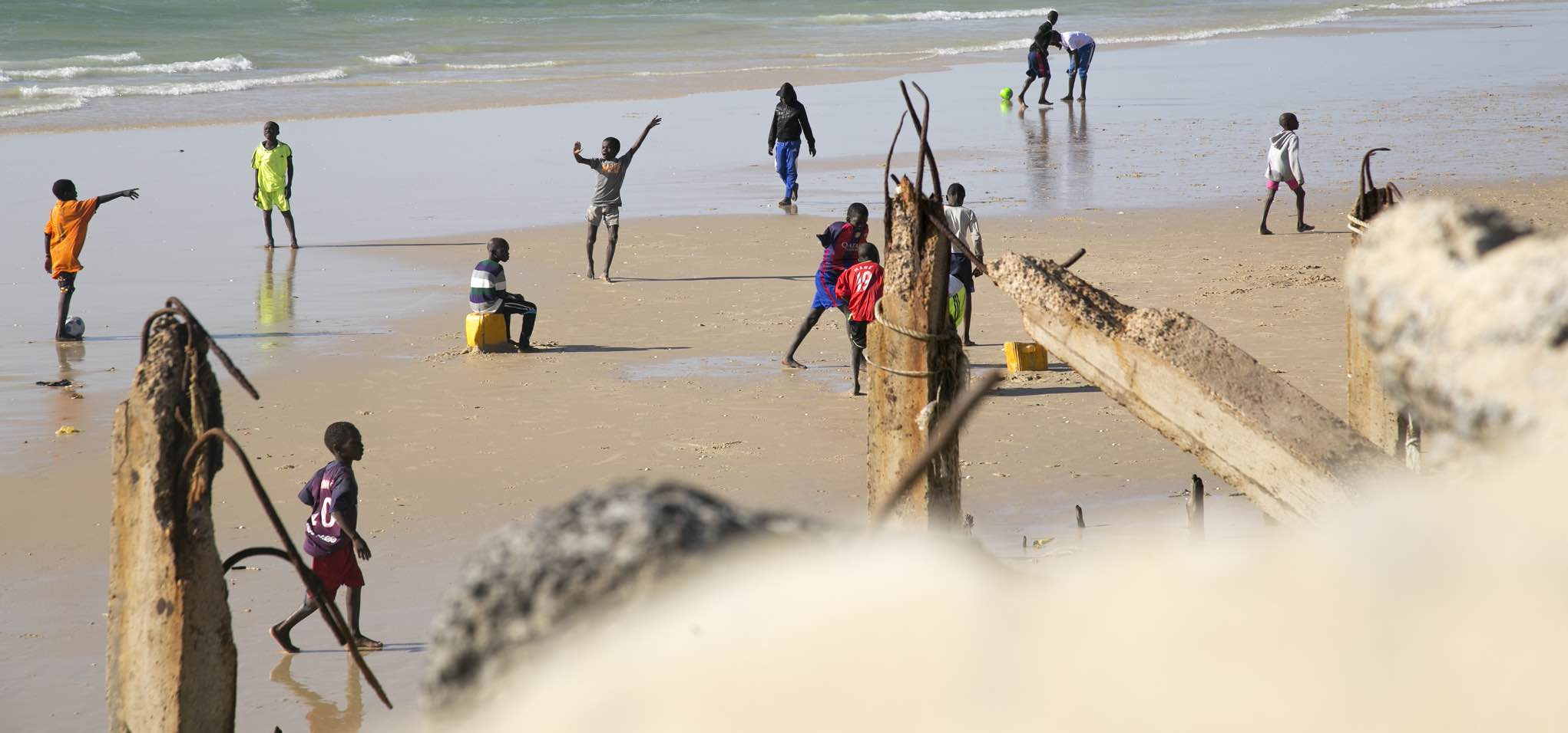 Beach games in Senegal (Photo: World Bank/Flickr)