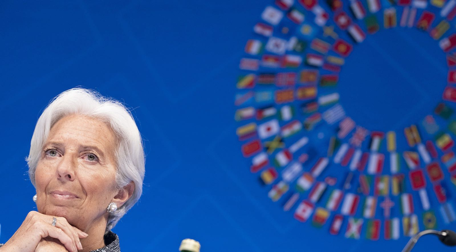 Who will take over the reins from IMF Managing Director Christine Lagarde (Photo: IMF/Flickr)