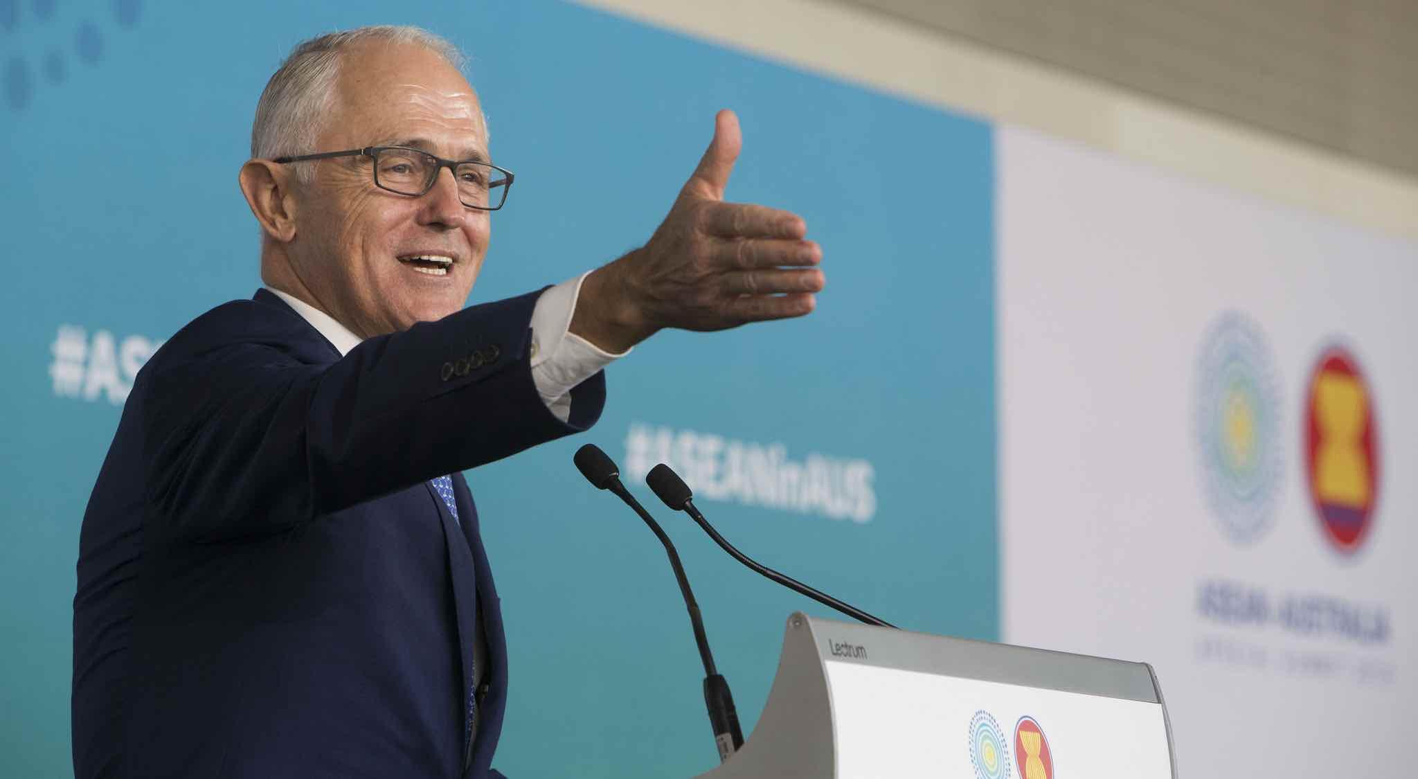Prime Minister Malcolm Turnbull (Photo: ASEAN-Australia Special Summit 2018/Flickr)