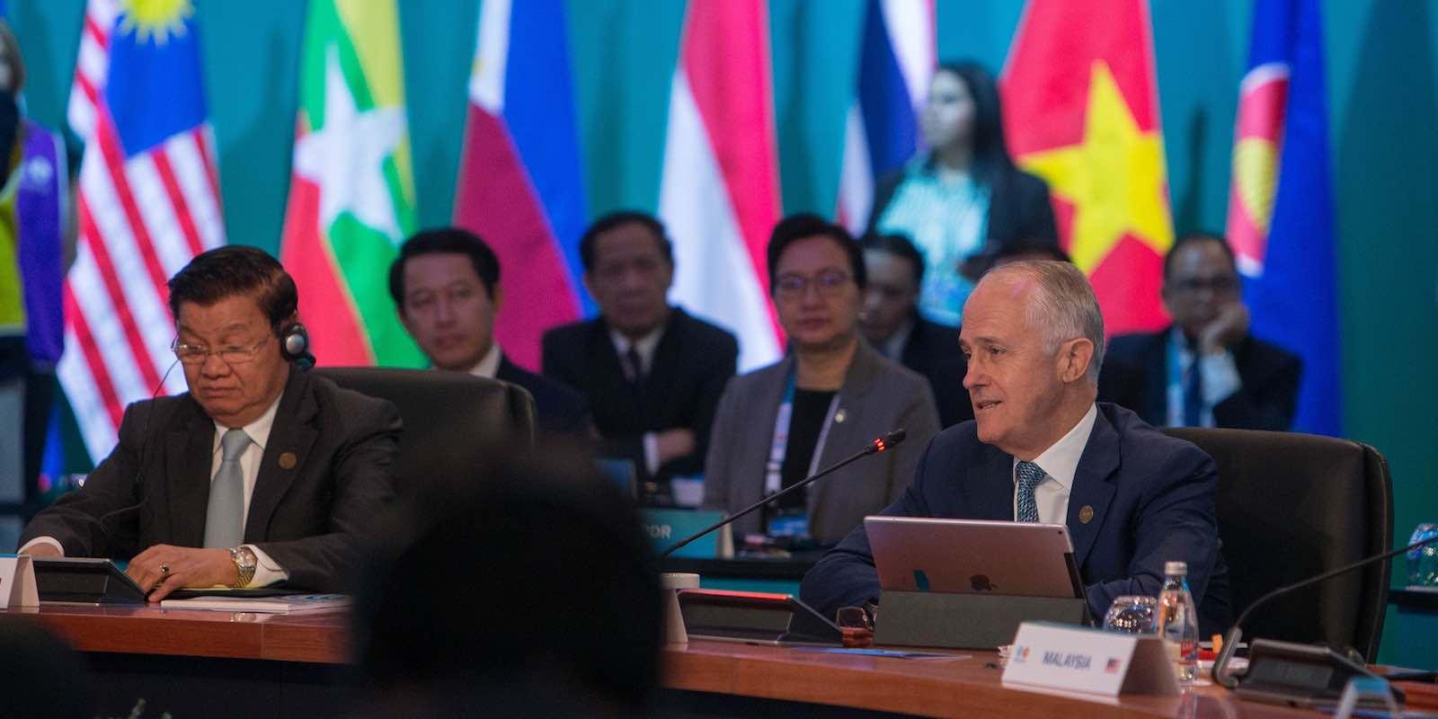 ASEAN-Australia Leaders Plenary in March (Photo: ASEAN-Australia Special Summit 2018/Flickr)