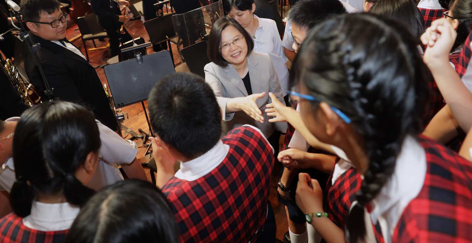 President of Taiwan Tsai Ing-wen this month (Photo: Taiwan Presidential office/Flickr)