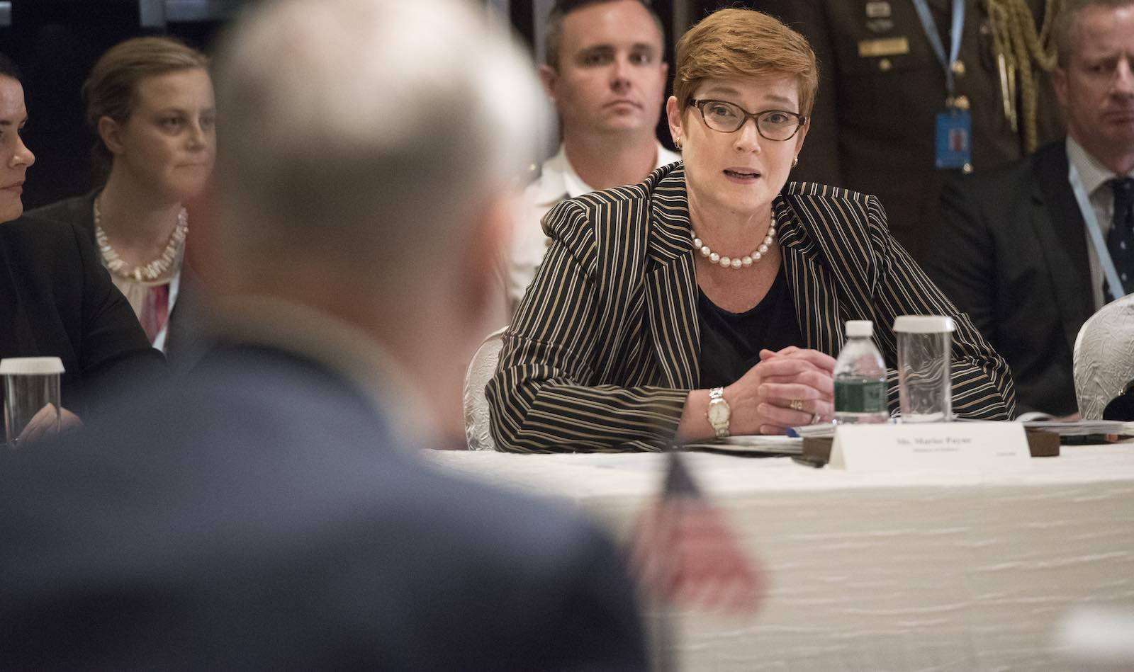 Foreign Minister Marise Payne (Photo: secdef/Flickr)