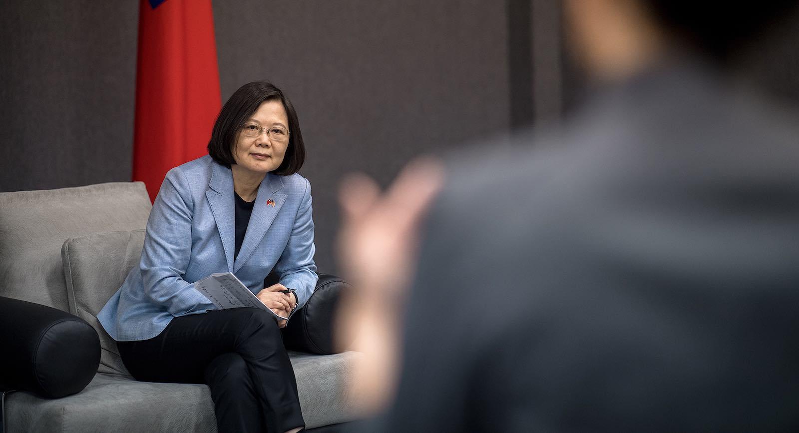 Taiwan President Tsai Ing-wen (Photo: Taiwan Presidential office/Flickr)