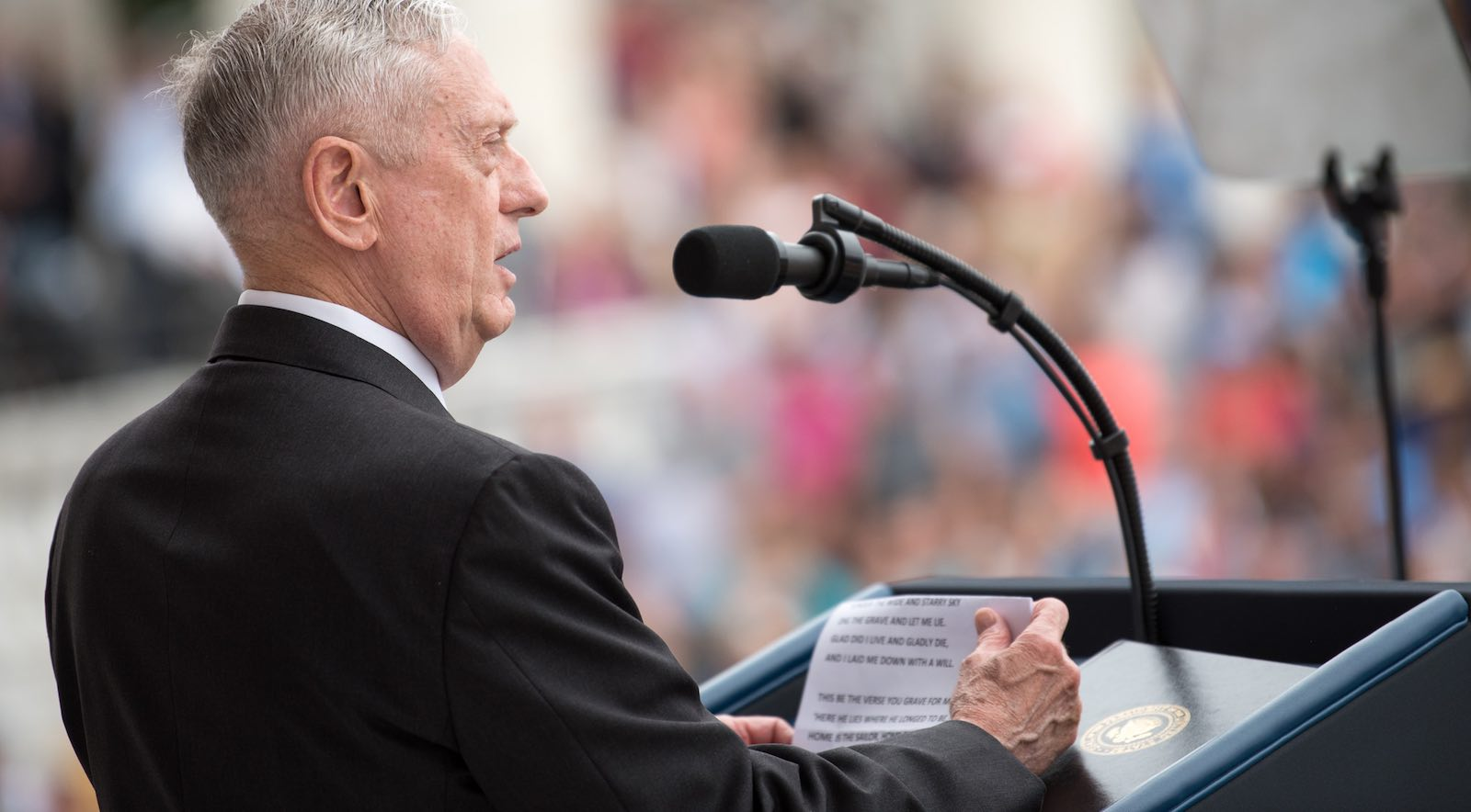 US Secretary of Defense James Mattis (Photo: SecDef/Flickr)