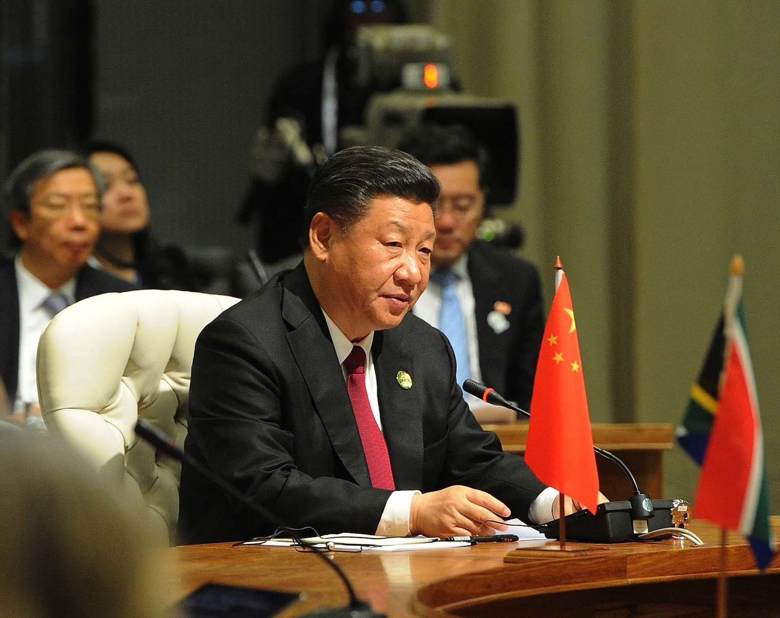 "Xi Jinping has made a call to ""unite all Chinese sons and daughters"" (Photo: GovernmentZA/Flickr)"
