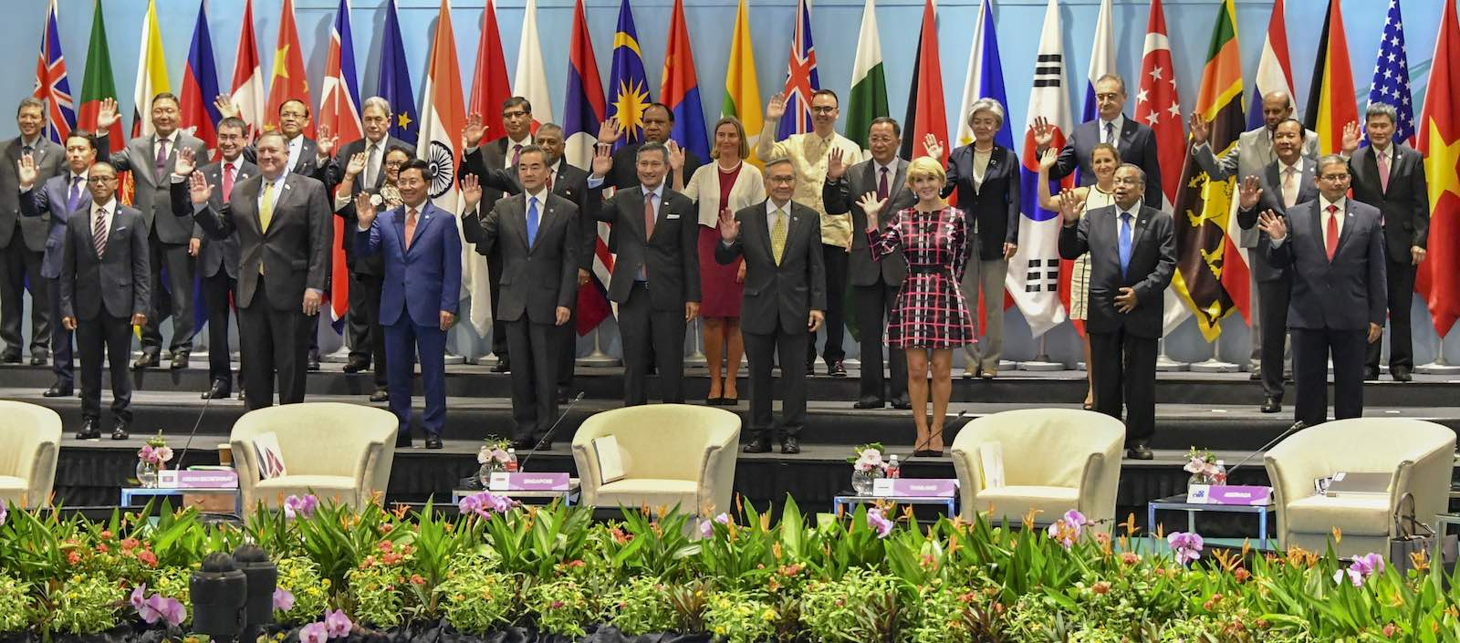 25th ASEAN Regional Forum Retreat in August 2018, Singapore (Photo: US Department of State/Flickr)