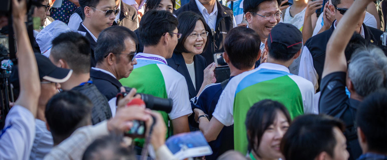 President Tsai Ing-wen (Taiwan Presidential Office/ Flickr)