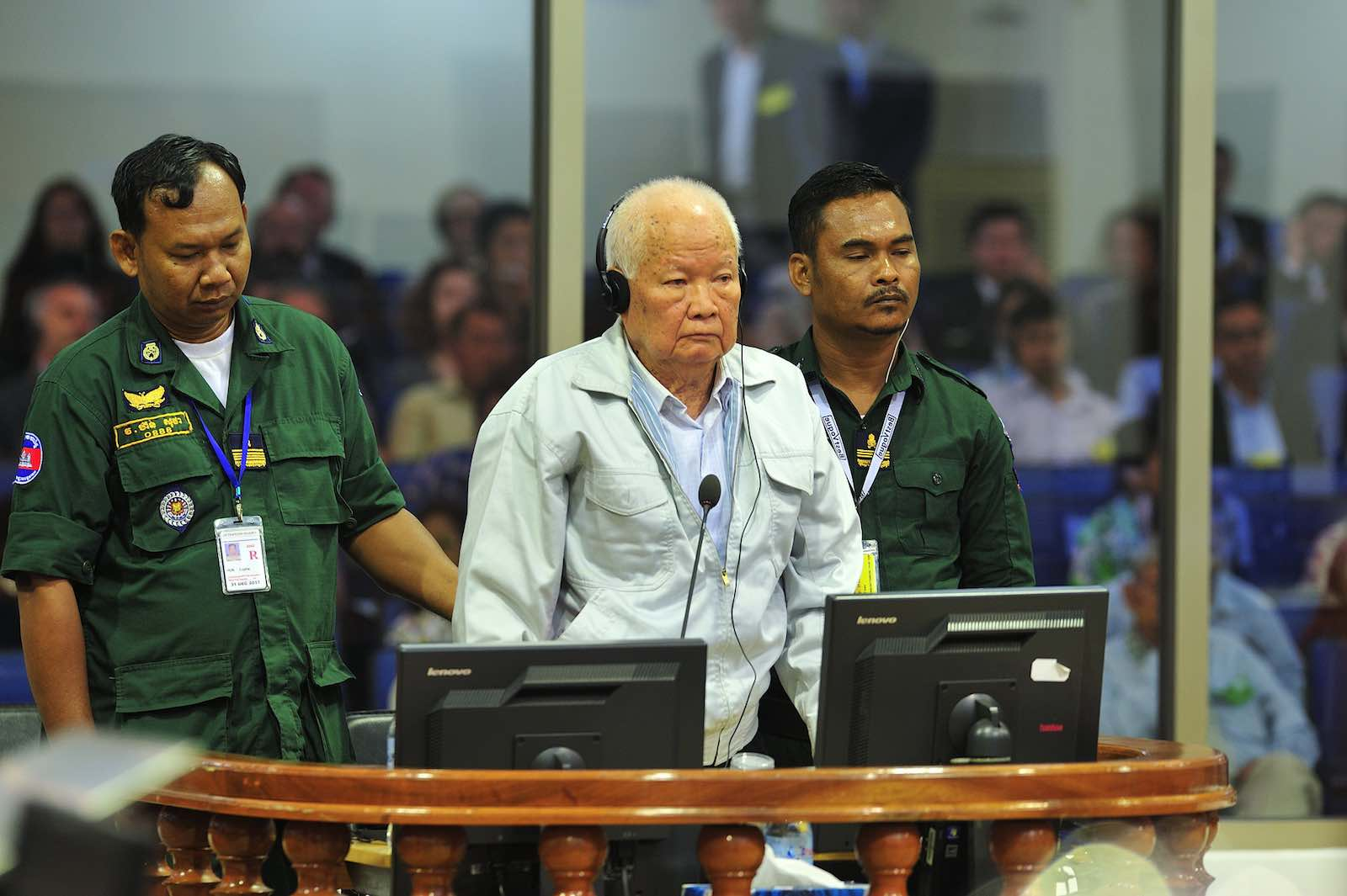 Pronouncement of the Judgement in Case 002/02 for Khieu Samphan on 16 November 2018, Extraordinary Chambers in the Courts of Cambodia (ECCC/Flickr)