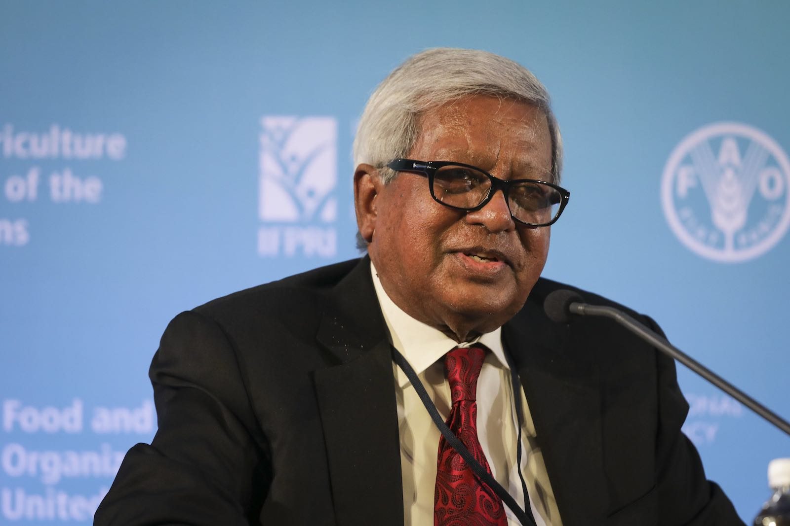 Sir Fazle Hasan Abed, founder of BRAC, in 2018 (Photo: Amanda Mustard for FAO/IFPRI-Images/Flickr)