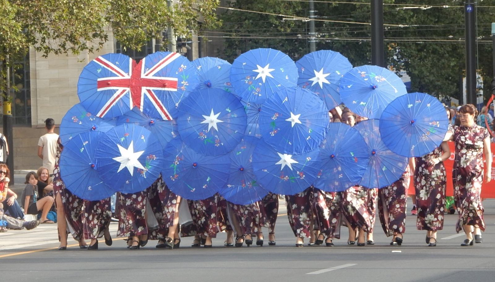 Australia Day parade, Adelaide 2019 (Photo: Michael Coghlan/Flickr)