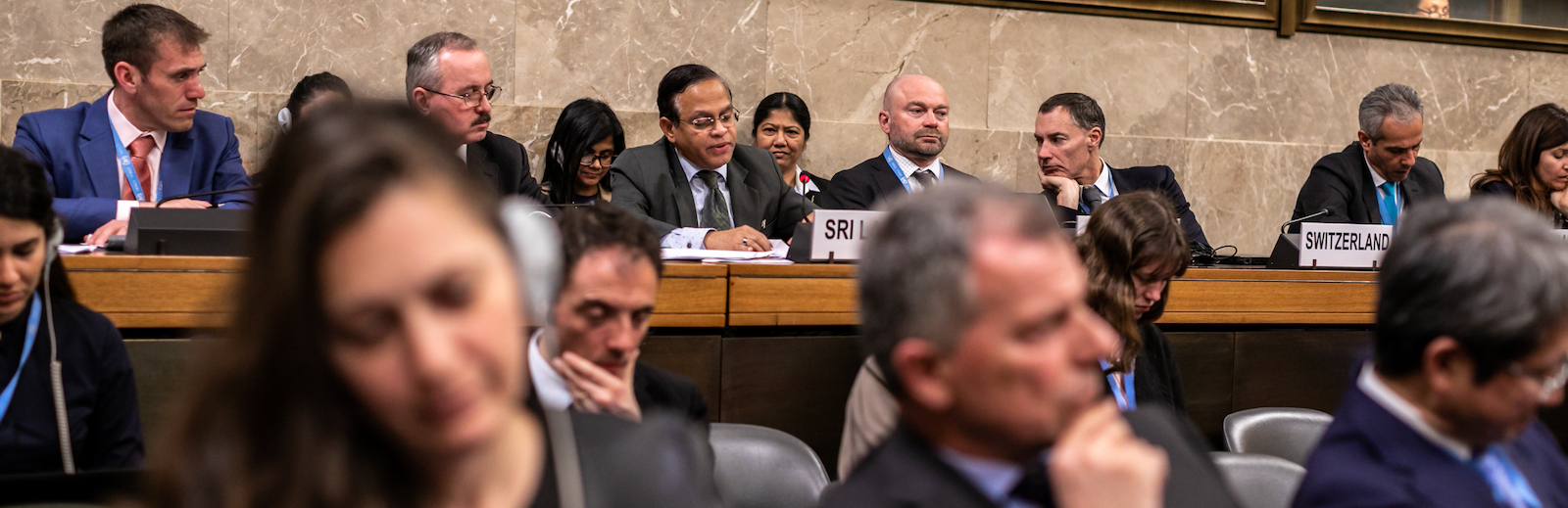 Ambassador of Sri Lanka to the United Nations addresses the Conference on Disarmament's High-Level Segment 2019 (Photo: UN Geneva/ Flickr)