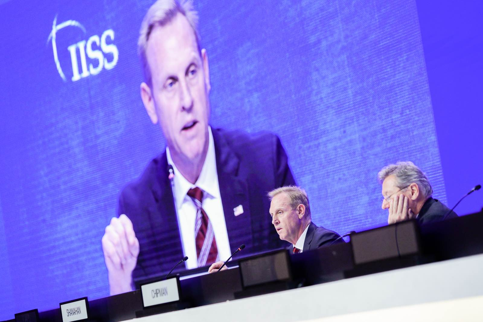 Acting US Defence Secretary Patrick Shanahan (Photo: International Institute for Strategic Studies/Flickr)