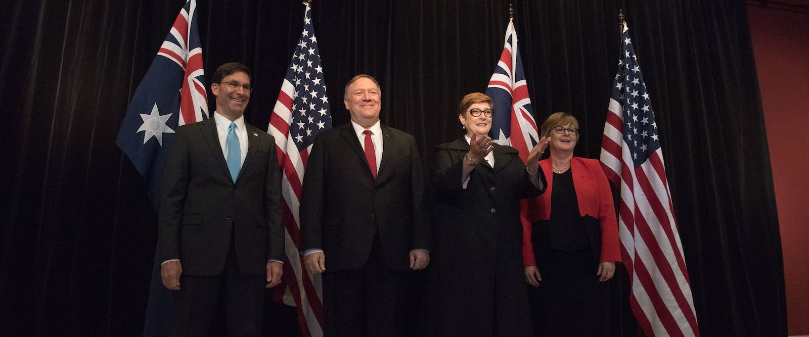 Sunday's AUSMIN talks brought an invitation for Australia to join a US coalition maritime protection force. (Photo: US Secretary of Defense/Flickr)