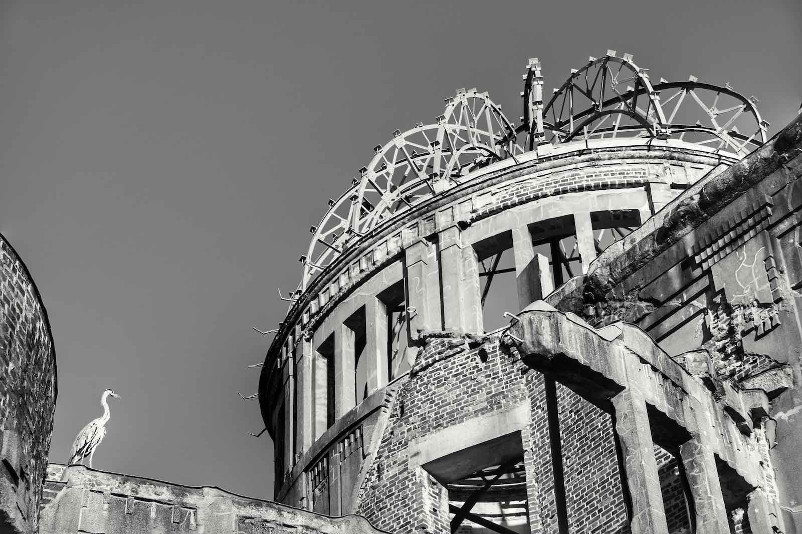 The Hiroshima Peace Memorial or Genbaku Dome, originally the Hiroshima Prefectural Industrial Promotion Hall (Mark Gunn/Flickr)