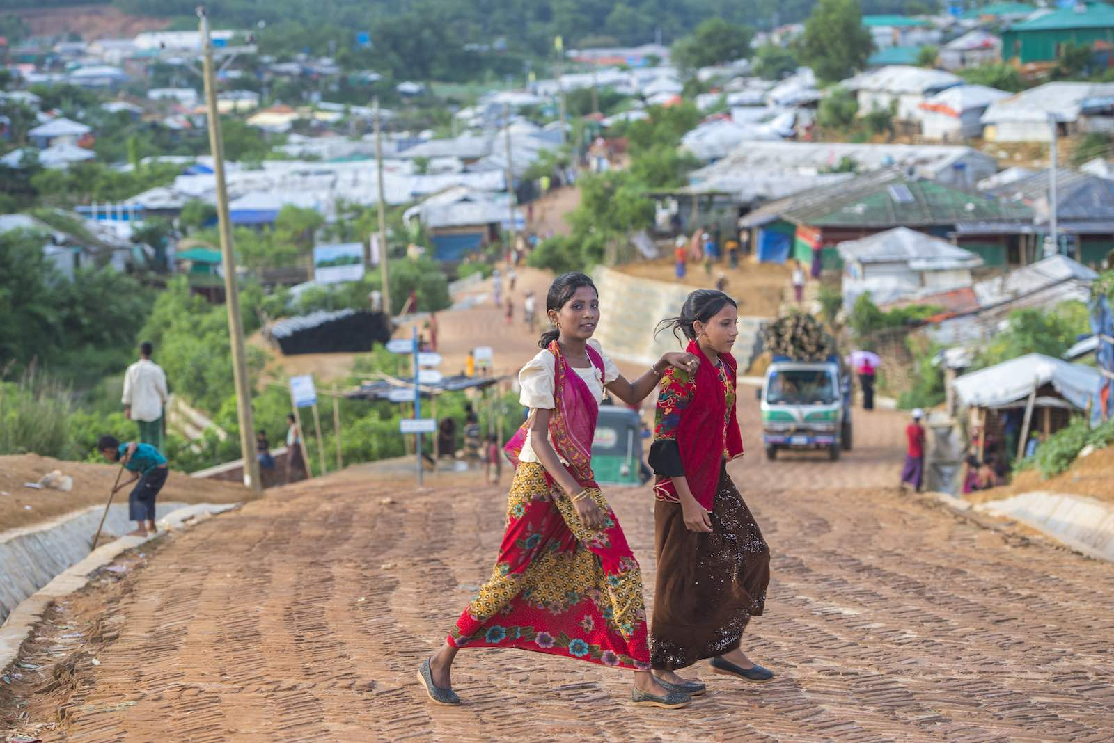 Sprawling camps around Cox's Bazar make up the world's largest refugee settlement (Photo: Peter Biro/European Union)