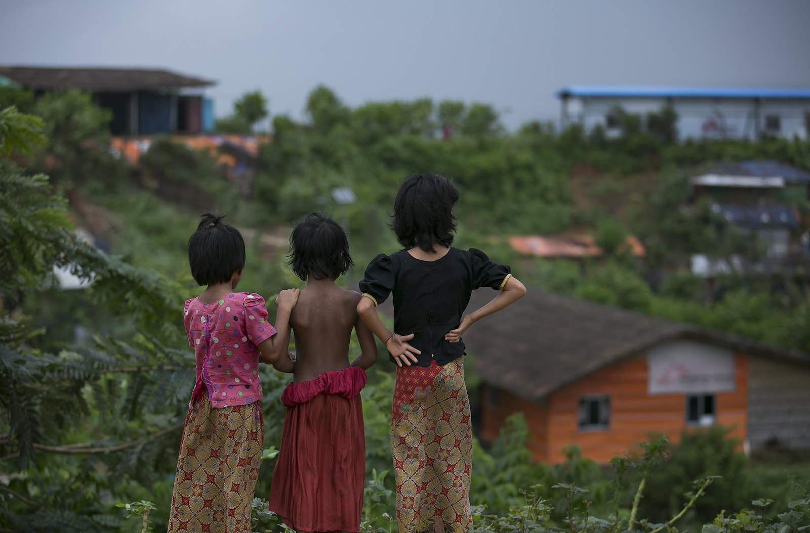 Balukhali refugee camp in Cox's Bazar, Bangladesh (Allison Joyce/UN Women)