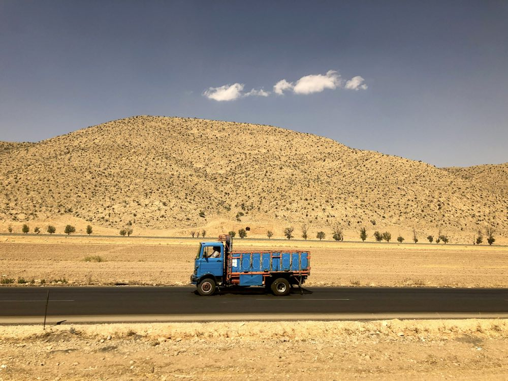 Trucking in Shiraz, Iran (Photo: Cyprien Hauser/Flickr)