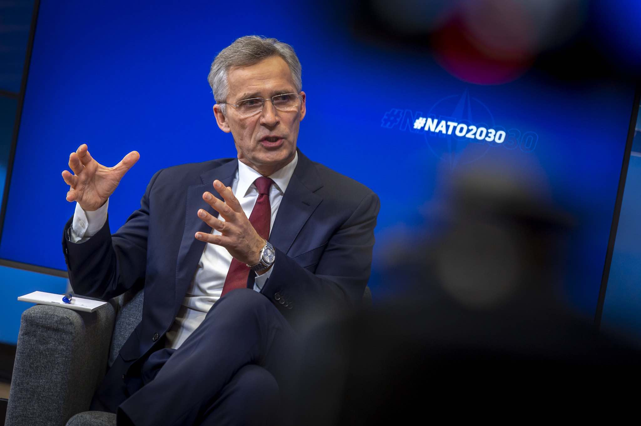 NATO Secretary General Jens Stoltenberg launched his outline for NATO 2030 in an online conversation on 8 June (NATO/Flickr)