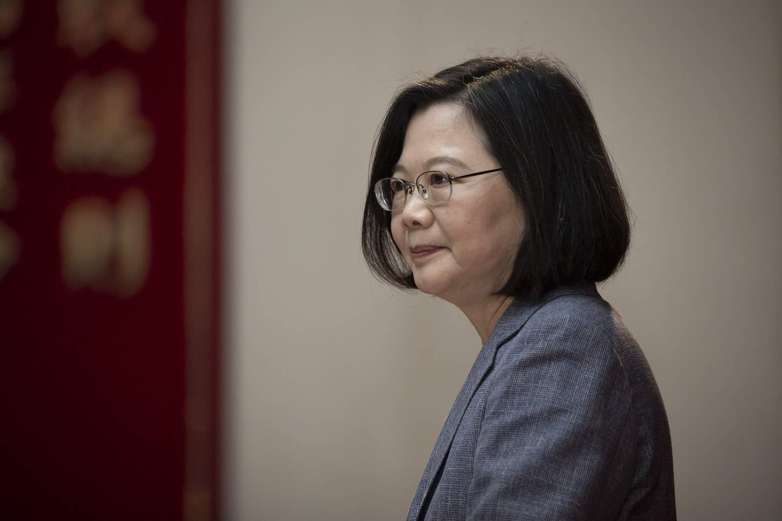 Tsai Ing-wen has taken a prudent and cautious stance on cross-strait issues (Taiwan Presidential Office/Flickr)