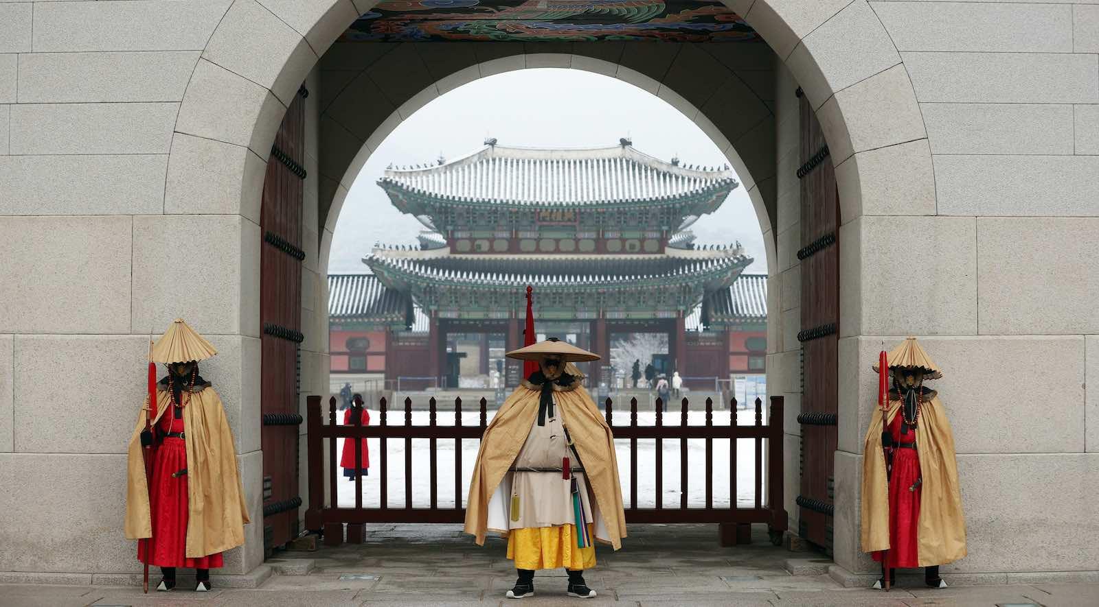 Gyeongbokgung Palace, Jongno-gu, Seoul (Republic of KoreaKoreanet/Flickr)