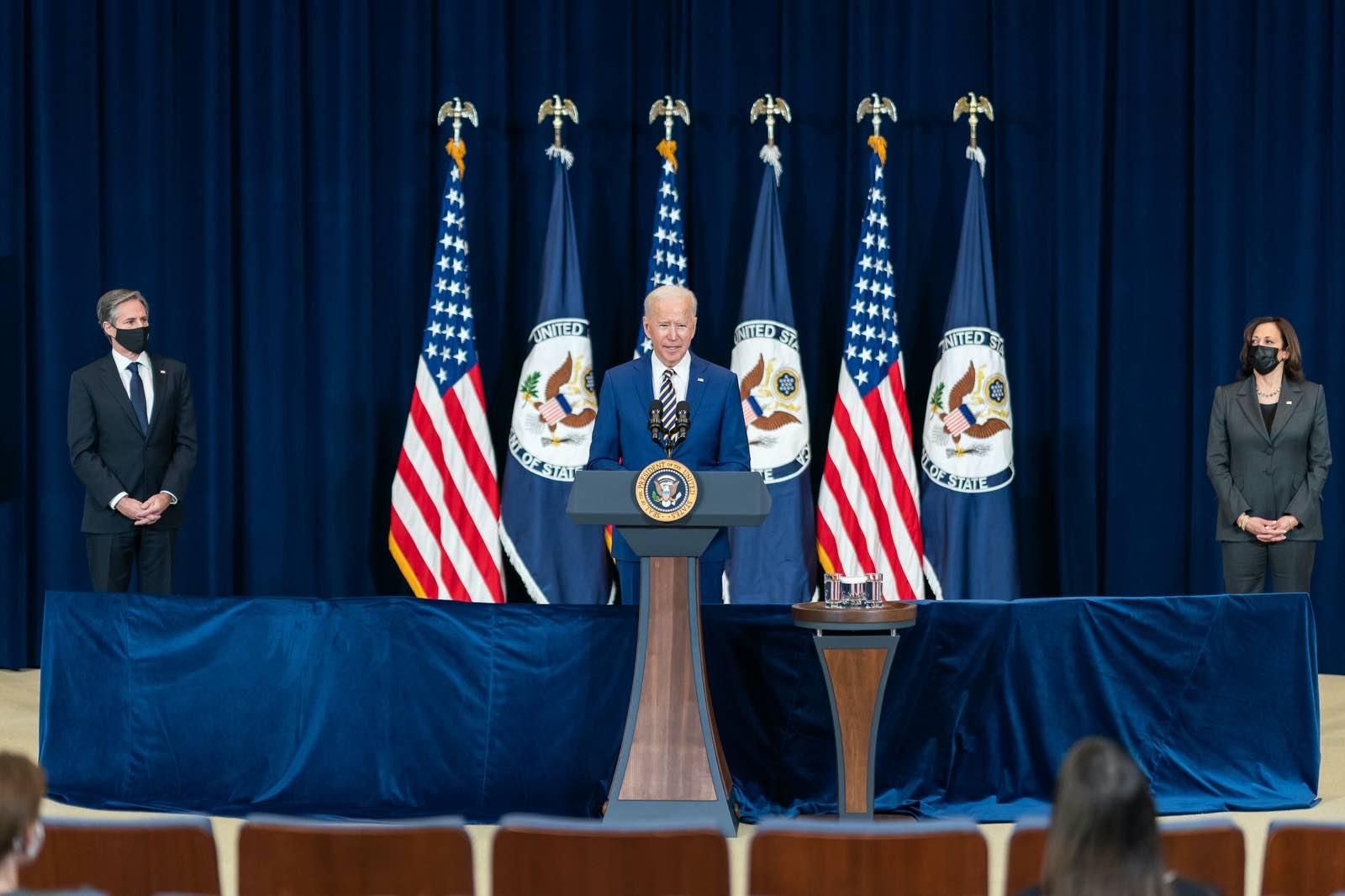 US President Joe Biden's commitment to an ideological agenda looksuncertain (The White House/Flickr)