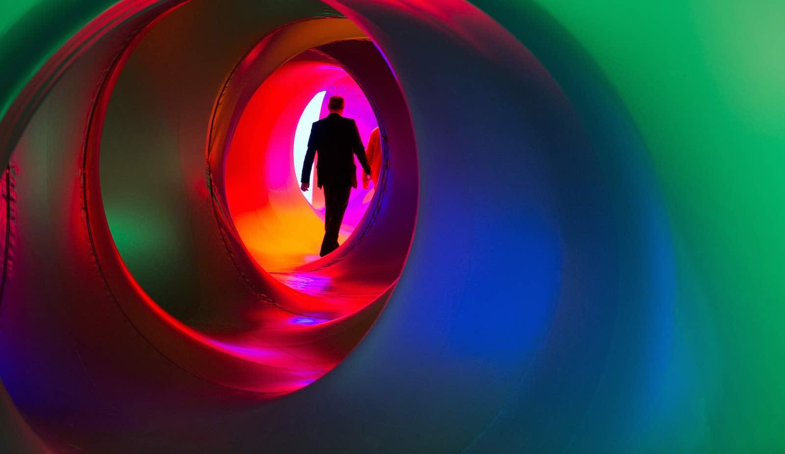 """Luminarium"", an inflatable sculpture by British artist Alan Parkinson (Photo: UN Photos)"