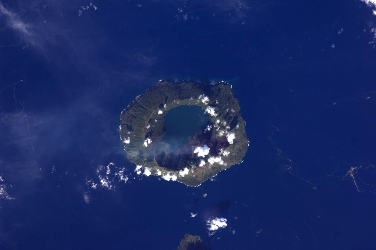 Tofua Island, Tonga. The Kingdom has a new island, Lateiki, following a recent volcanic eruption (Photo: NASA)