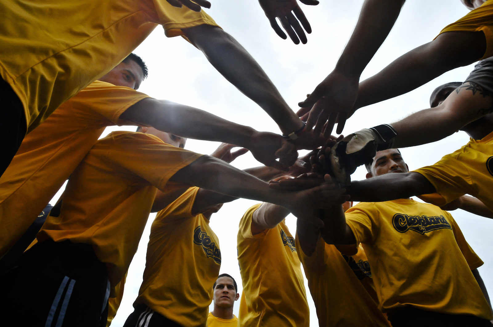 Teaming up for an exhibition soccer match in Lae, PNG, during the 2011 Pacific Partnership initiative by the US Navy (US Navy/Flickr)