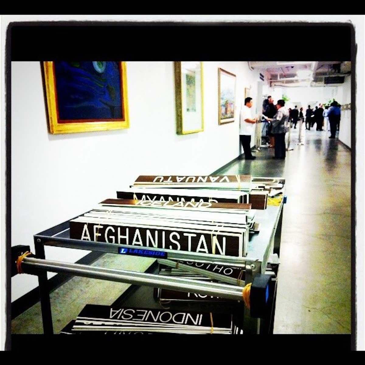 Member state name plates at UN Headquarters (John McIlwaine/UN Photo)