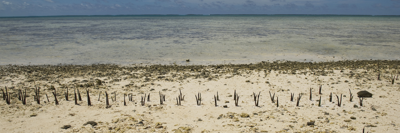 Climate change effects in Tarawa, an atoll in Kiribati (Photo: United Nations photo/ Flickr)