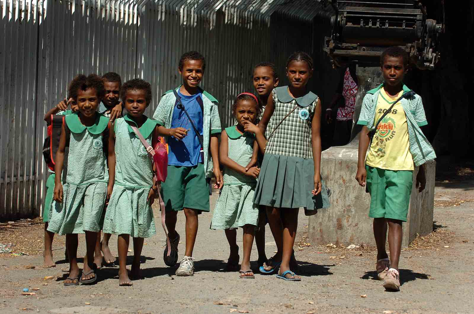 Schoolchildren in Port Moresby, Papua New Guinea (Photo: Commonwealth Secretariat/Flickr)