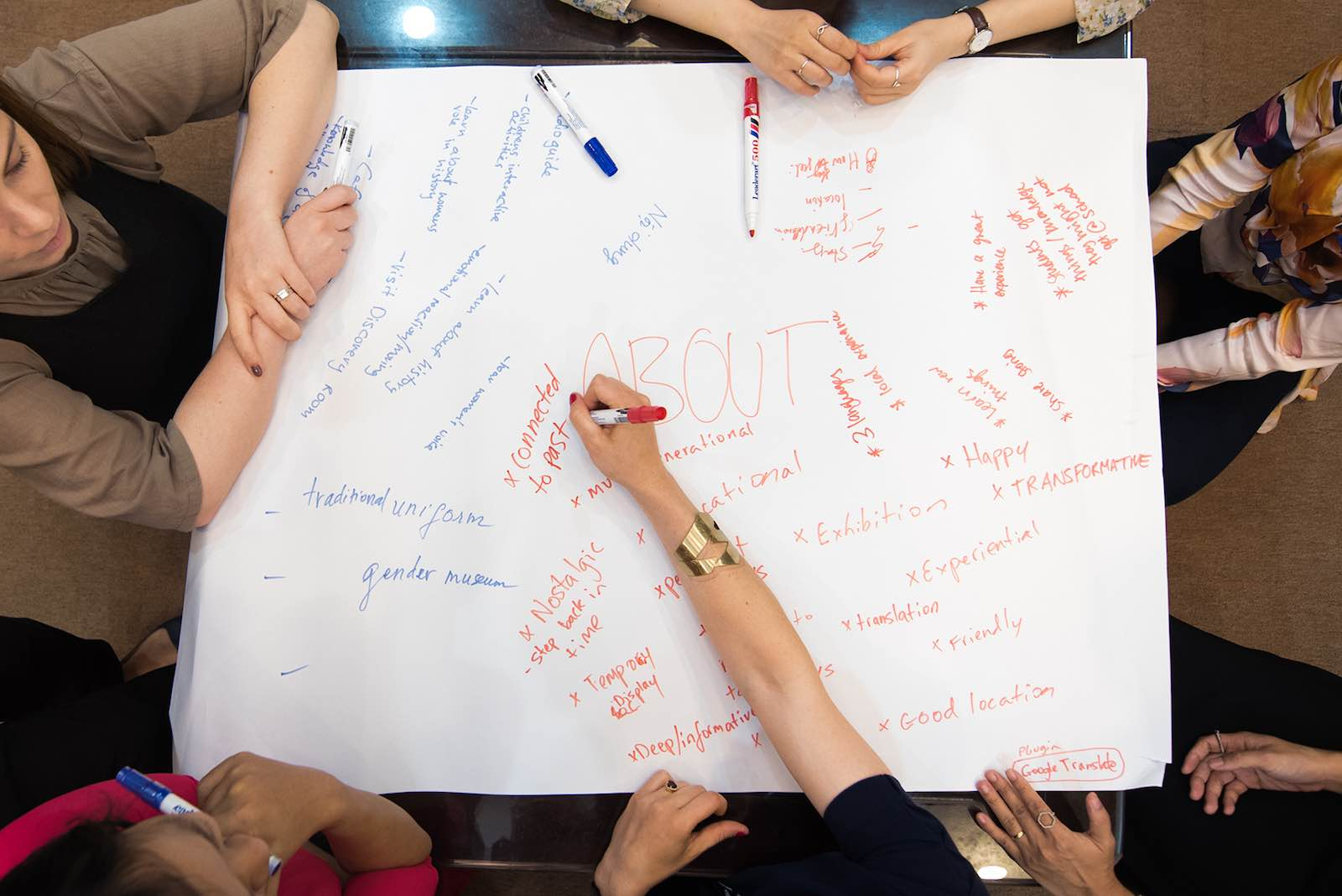 Brainstorming at a Youth Entrepreneurs and Leaders event (Social Good Outpost)
