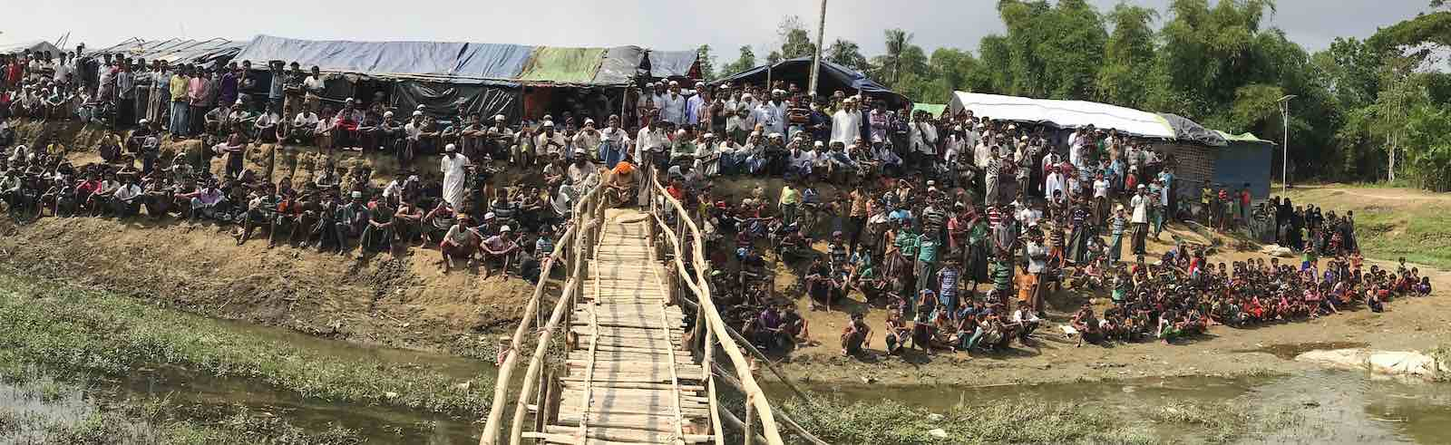 Kutupalong refugee camp in Cox's Bazar, Bangladesh, in April (Photo: United Nations)