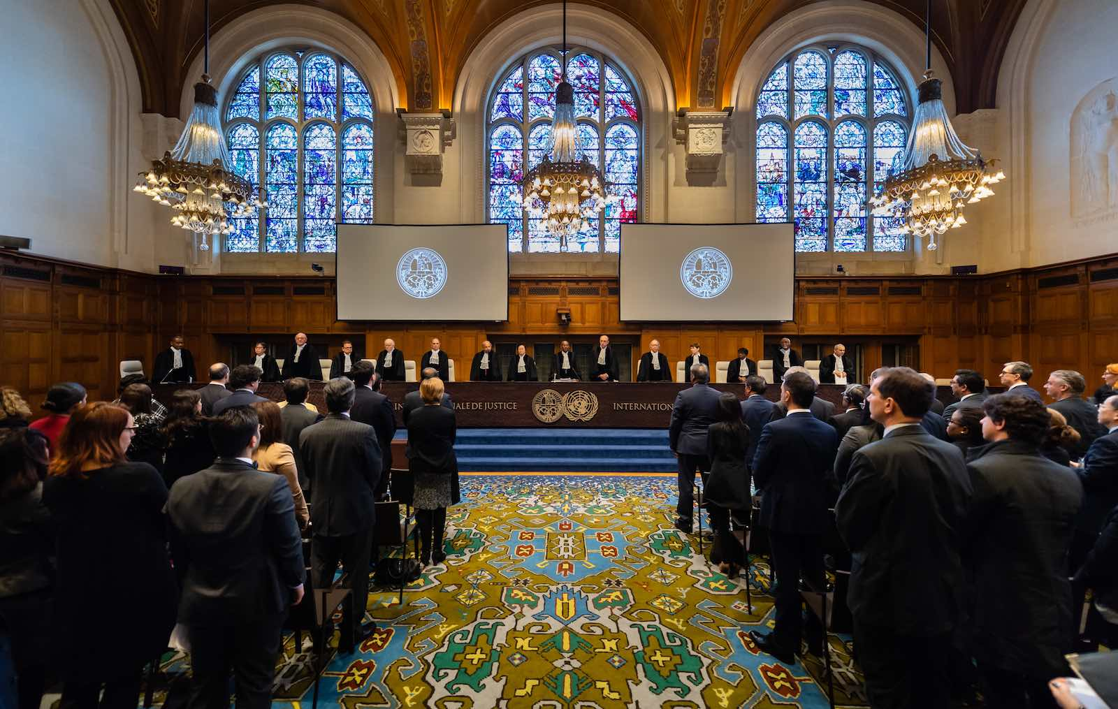 The International Court of Justice delivers its Advisory Opinion on the 1965 Separation of Chagos Archipelago from Mauritius, The Hague, 25 February 2019 (Wendy van Bree/UN Photo)