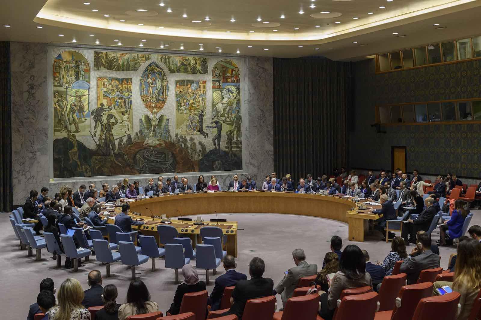 A UN Security Council meeting in June 2019 (Photo: Loey Felipe/UN Photo)