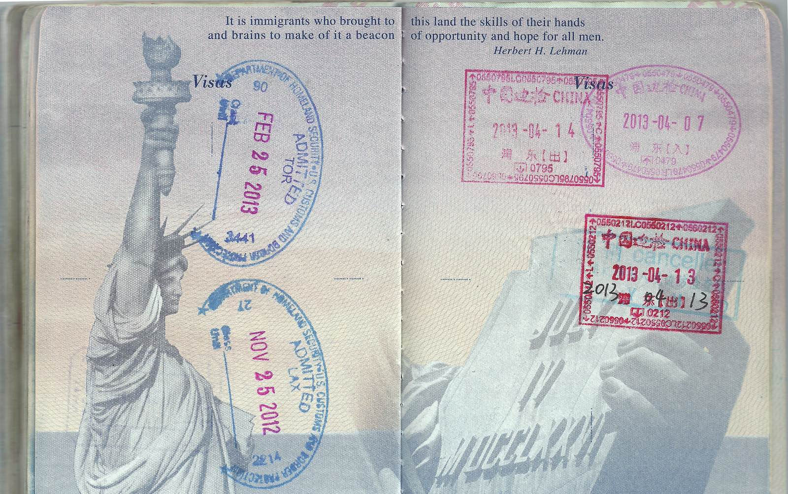 Of course, holders of one of these passports don't need worry about a US visa (Photo: dcgreer/Flickr)