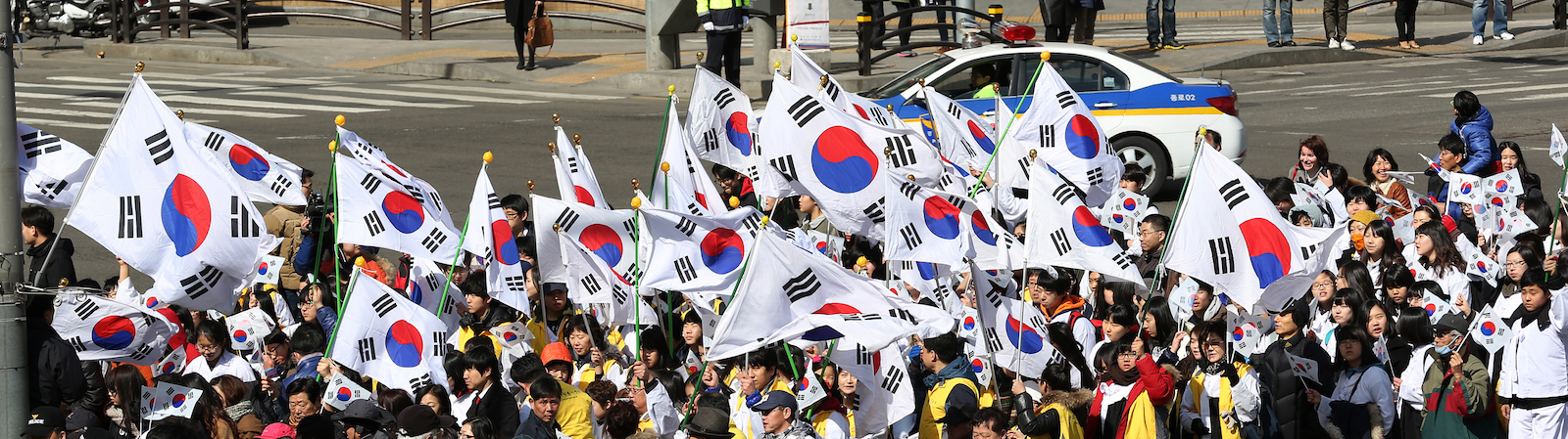 A celebration of the March First Movement in Seoul (Photo: Republic of Korea/ Flickr)
