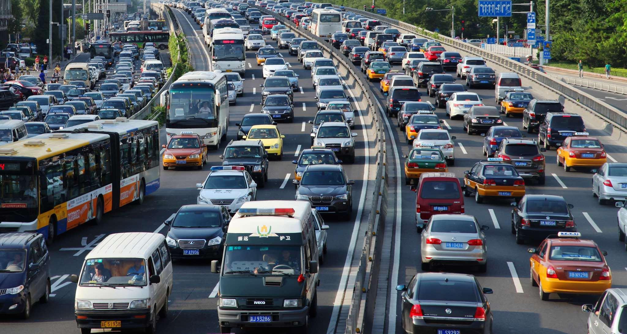 Traffic in Beijing, China (Photo: World Bank/Flickr)