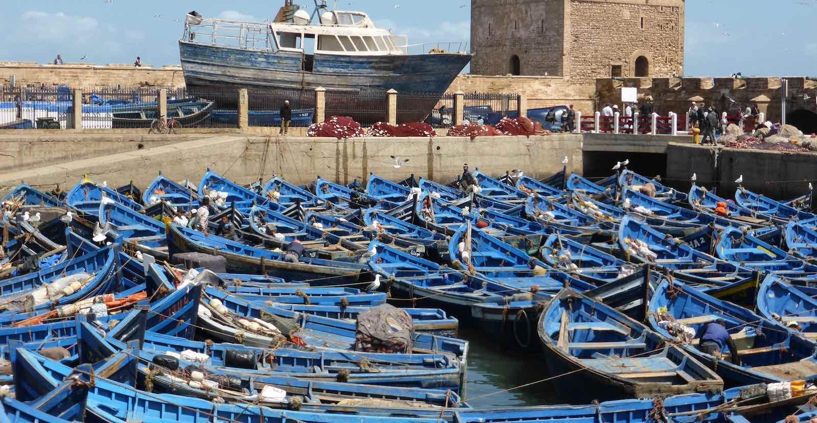 A crowed port (Photo: tjabeljan/Flickr)