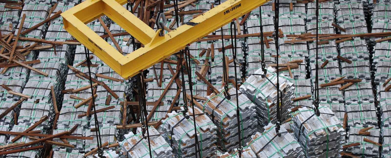 Aluminium ingots unloaded at Talleyrand Marine Terminal, Florida, US (Photo: Jaxport/Flickr)