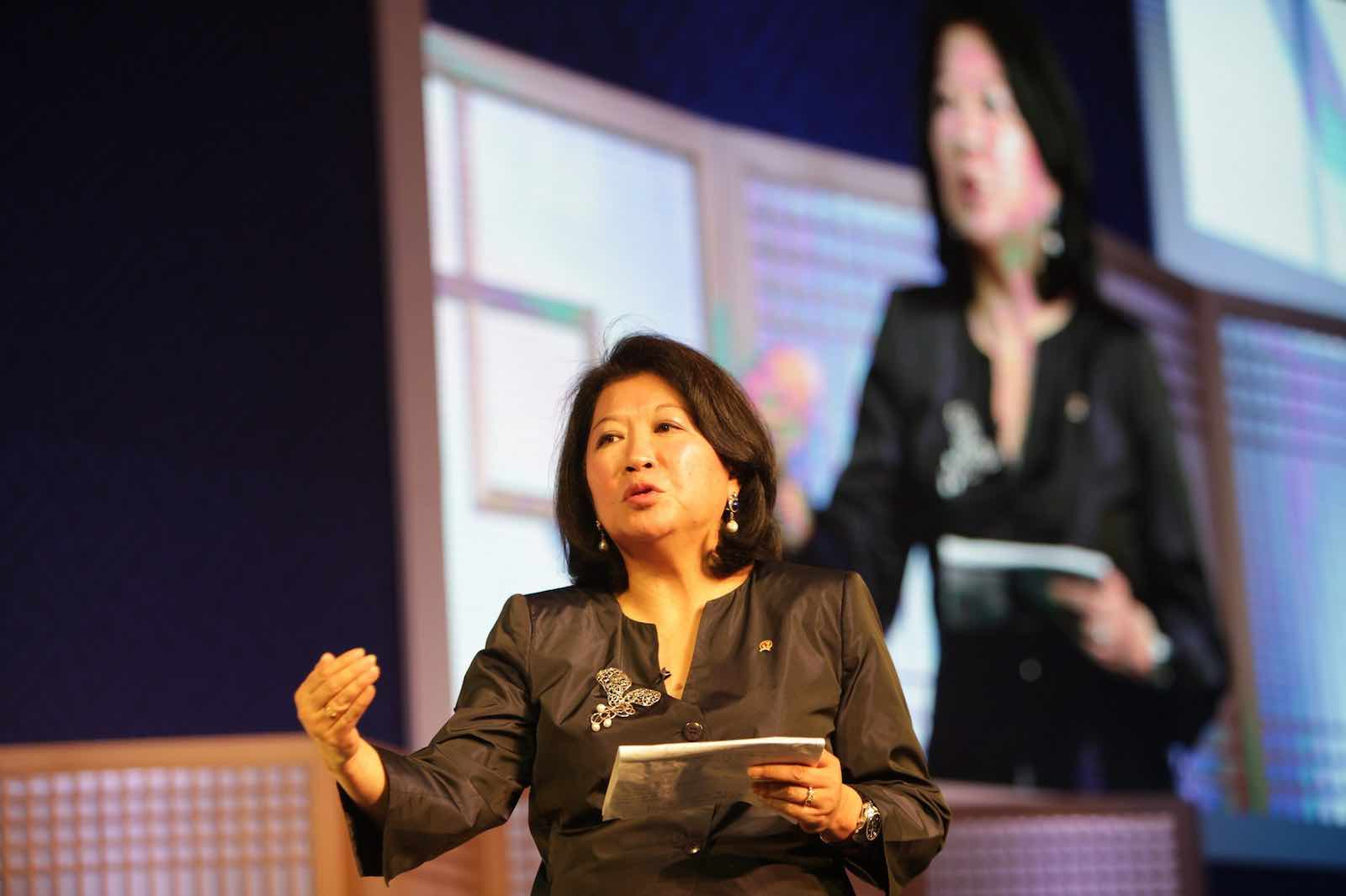 Mari Pangestu has had a remarkable career as an economic adviser and policy maker in Indonesia (Photo: World Travel & Tourism Council/Flickr)