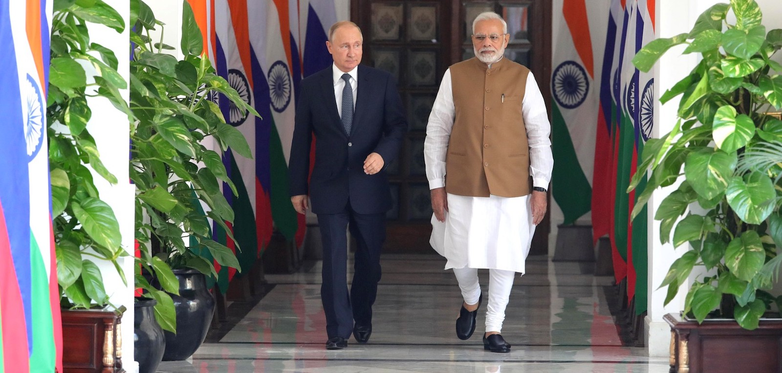 It seems clear that the Indo-Russian relationship is founded on a sturdy basis of mutual needs and interests (Photo: Kremlin.ru)