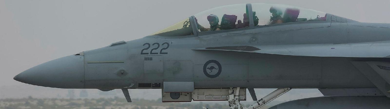 An RAAF F/A-18A Hornet aircraft (Photo: Aust Defence Image Library)
