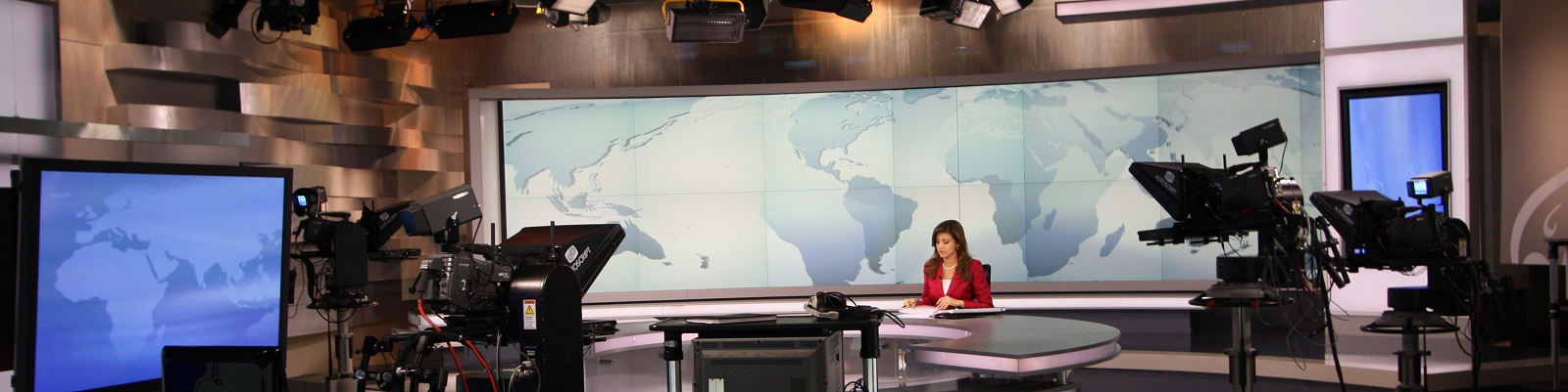 Al Jazeera studio in Doha, Qatar (Photo: Getty Images)