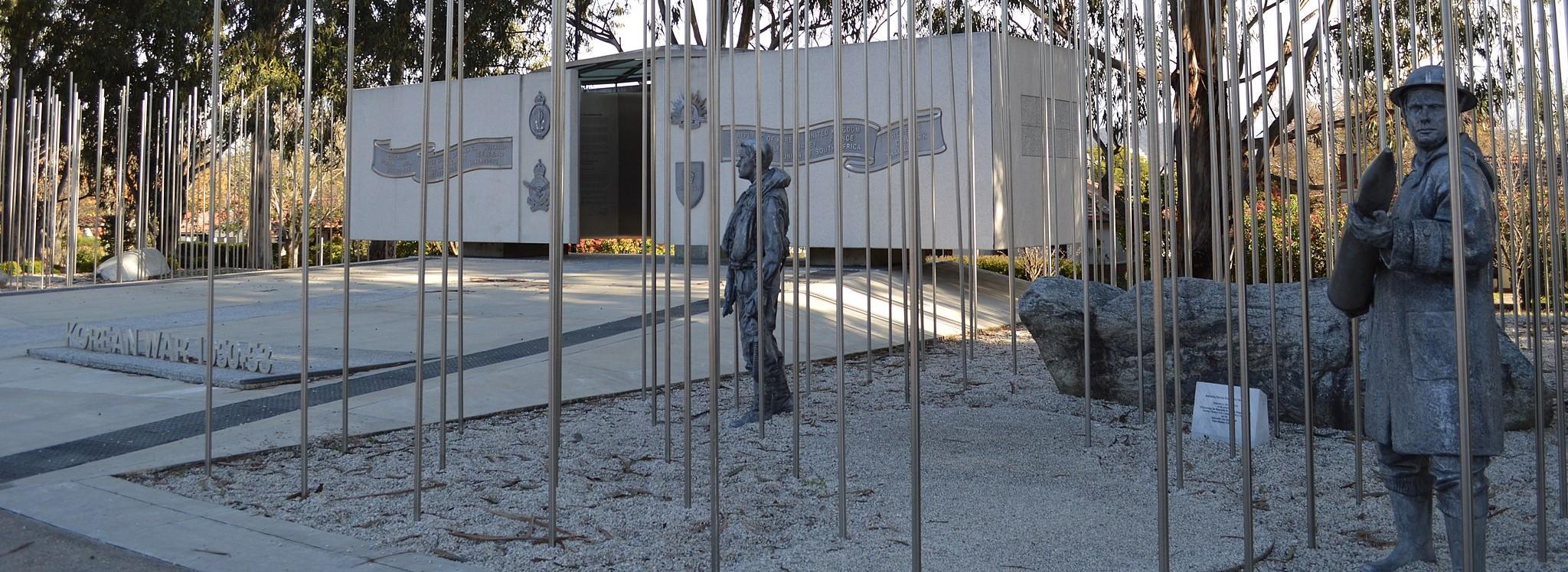 Australian National Korean War Memorial, Canberra (Photo: Mattinbgn/Wikimedia)