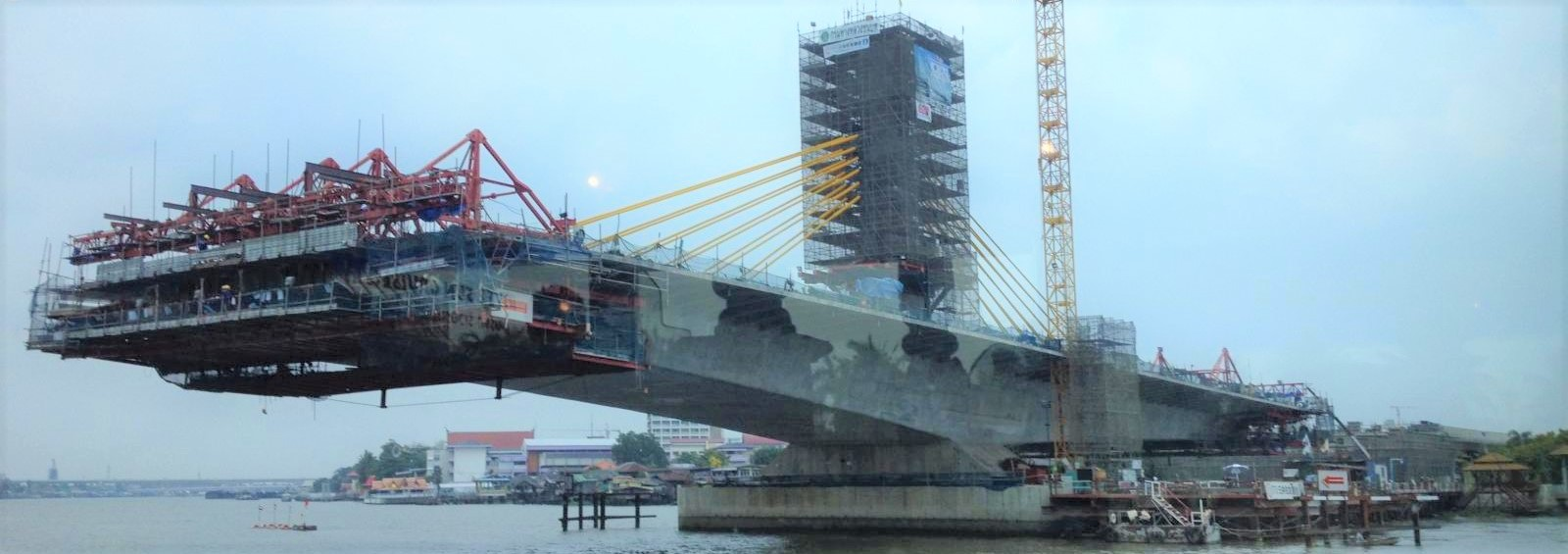 Bangkok bridge construction (Photo: Flickr/Harry Wood)